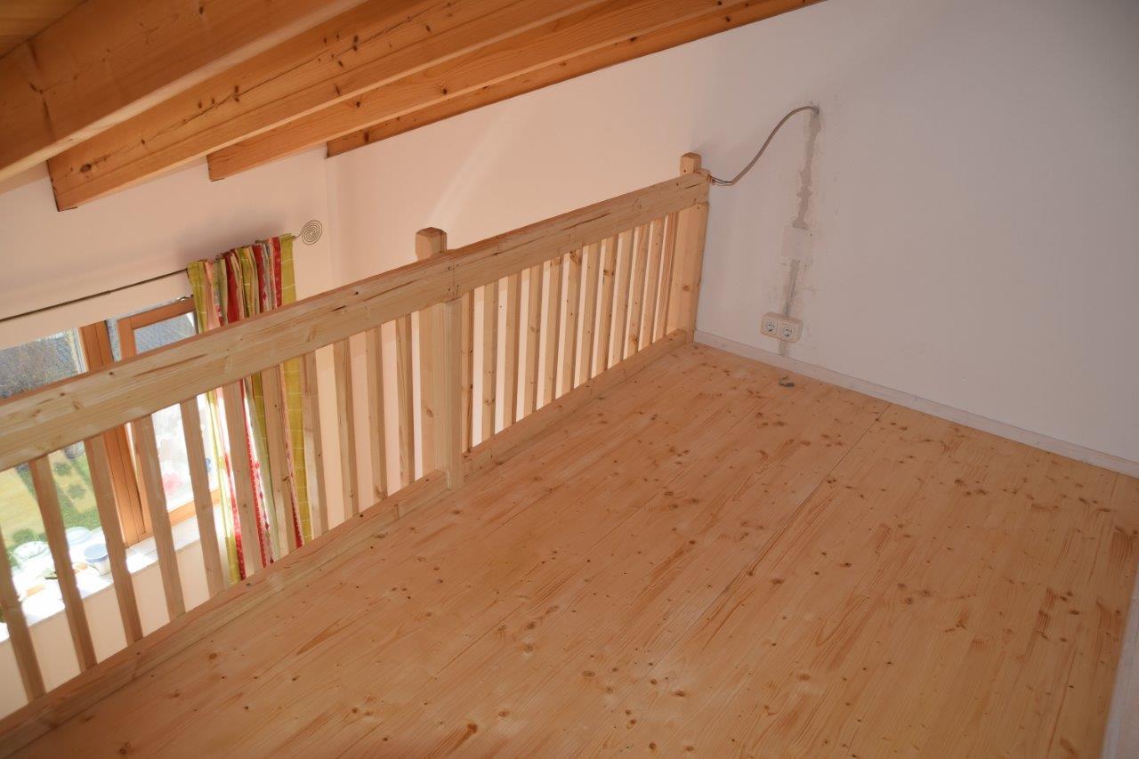 Galerie-Einbau im Kinderzimmer